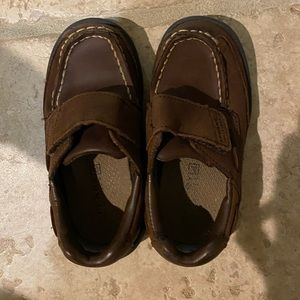 Toddler Boys Chocolate Brown Sperry